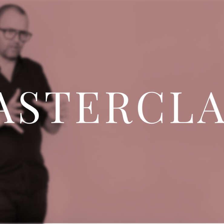Masterclass | Kenneth Carmohn